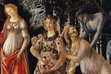 Botticellli La primavera 1477 78 miniatura 2