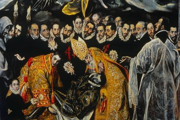 El Greco El entierro del conde de Orgaz 1588 mini