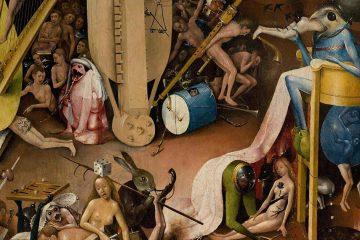 El Bosco El infierno 1500 1505 miniatura