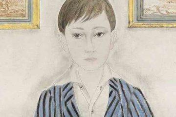 Foujita retrato de un chico 1923 mini