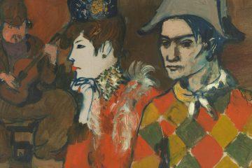 Picasso Au Lapin Agile 1905 mini