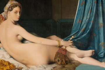 Ingres La gran odalisca 1814 mini