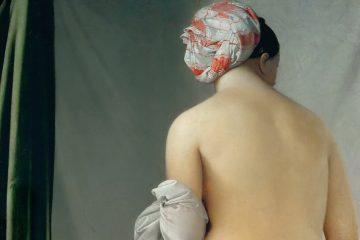 Ingres la bañista de Valpinçon 1808 mini