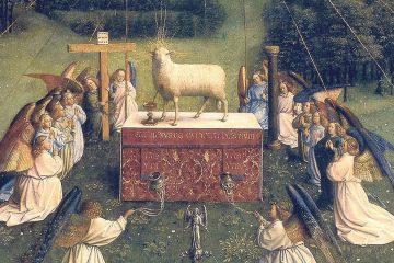 Van Eyck Políptico de Gante mini