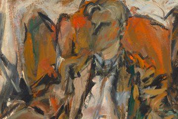 Elaine de Kooning Retrato de Willem de Kooning 1952 mini