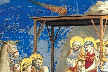 Giotto Adoración de los Magos mini