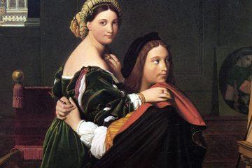 ngres Rafael y La Fornarina 1814 mini