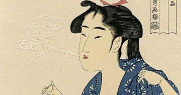 C6 Utamaro bijin ga mini