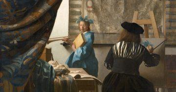 Vermeer y la cámara oscura mini