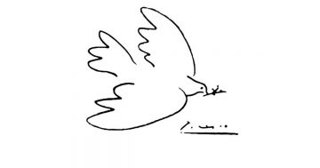 Paloma de la paz mini