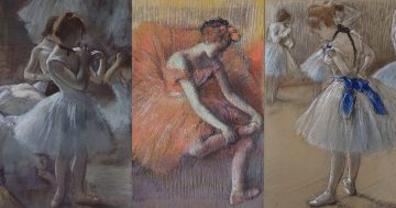 C6 Degas and the dancers mini