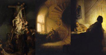 C6 Rembrandt, Synonym of Chiaroscuro and Baroque mini