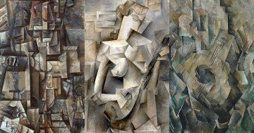 E Cubismo analítico mini